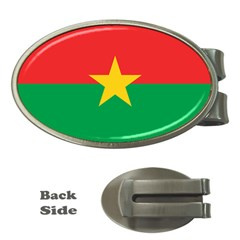 Roundel Of Burkina Faso Air Force Money Clips (oval)  by abbeyz71