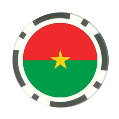 Roundel Of Burkina Faso Air Force Poker Chip Card Guard by abbeyz71