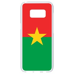 Roundel Of Burkina Faso Air Force Samsung Galaxy S8 White Seamless Case
