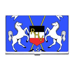 Coat Of Arms Of Upper Volta Business Card Holders by abbeyz71