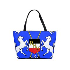 Coat Of Arms Of Upper Volta Shoulder Handbags by abbeyz71