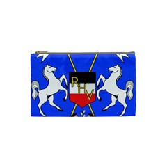 Coat Of Arms Of Upper Volta Cosmetic Bag (small)  by abbeyz71
