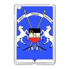 Coat Of Arms Of Upper Volta Apple Ipad Mini Case (white) by abbeyz71