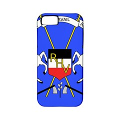 Coat Of Arms Of Upper Volta Apple Iphone 5 Classic Hardshell Case (pc+silicone) by abbeyz71