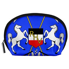 Coat Of Arms Of Upper Volta Accessory Pouches (large)  by abbeyz71