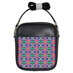 Artwork By Patrick Colorful 34 1 Girls Sling Bags by ArtworkByPatrick