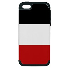 Flag Of Upper Volta Apple Iphone 5 Hardshell Case (pc+silicone) by abbeyz71