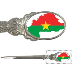 Burkina Faso Flag Map  Letter Openers