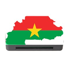 Burkina Faso Flag Map  Memory Card Reader With Cf by abbeyz71