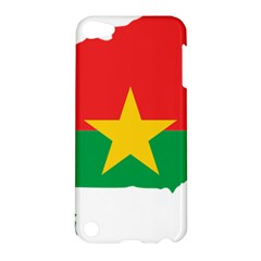 Burkina Faso Flag Map  Apple Ipod Touch 5 Hardshell Case by abbeyz71