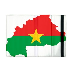 Burkina Faso Flag Map  Ipad Mini 2 Flip Cases by abbeyz71
