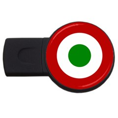 Roundel Of Burundi Air Force  Usb Flash Drive Round (2 Gb) by abbeyz71