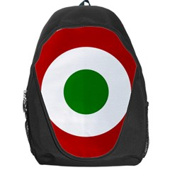 Roundel Of Burundi Air Force  Backpack Bag by abbeyz71
