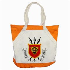 Coat Of Arms Of Burundi Accent Tote Bag by abbeyz71