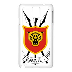 Coat Of Arms Of Burundi Samsung Galaxy Note 3 N9005 Case (white) by abbeyz71
