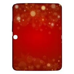 Background Abstract Christmas Samsung Galaxy Tab 3 (10 1 ) P5200 Hardshell Case
