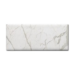 White Marble Tiles Rock Stone Statues Cosmetic Storage Cases by Simbadda