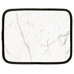 White Marble Tiles Rock Stone Statues Netbook Case (xl)