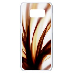 Digital Tree Fractal Digital Art Samsung Galaxy S8 White Seamless Case