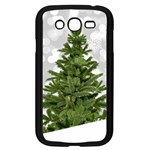 Christmas xmas Tree Bokeh Samsung Galaxy Grand DUOS I9082 Case (Black) Front