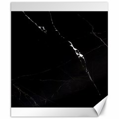 Black Marble Tiles Rock Stone Statues Canvas 20  X 24   by Simbadda