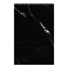 Black Marble Tiles Rock Stone Statues Shower Curtain 48  X 72  (small)  by Simbadda