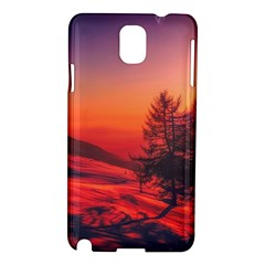Italy Sunrise Sky Clouds Beautiful Samsung Galaxy Note 3 N9005 Hardshell Case