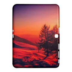 Italy Sunrise Sky Clouds Beautiful Samsung Galaxy Tab 4 (10 1 ) Hardshell Case