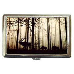 Forest Fog Hirsch Wild Boars Cigarette Money Cases