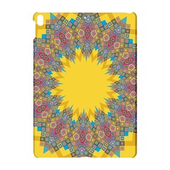 Star Quilt Pattern Squares Apple Ipad Pro 10 5   Hardshell Case by Simbadda