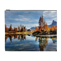Dolomites Mountains Italy Alpine Cosmetic Bag (xl)