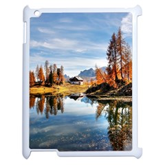 Dolomites Mountains Italy Alpine Apple Ipad 2 Case (white) by Simbadda