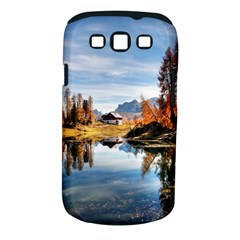 Dolomites Mountains Italy Alpine Samsung Galaxy S Iii Classic Hardshell Case (pc+silicone) by Simbadda