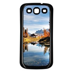 Dolomites Mountains Italy Alpine Samsung Galaxy S3 Back Case (black)