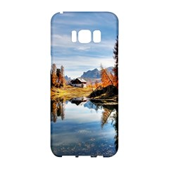Dolomites Mountains Italy Alpine Samsung Galaxy S8 Hardshell Case