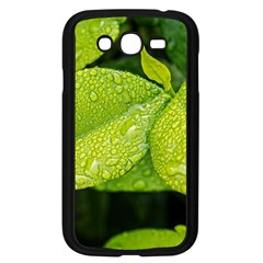 Leaf Green Foliage Green Leaves Samsung Galaxy Grand Duos I9082 Case (black)
