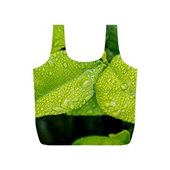 Leaf Green Foliage Green Leaves Full Print Recycle Bags (s)