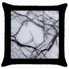 Marble Tiles Rock Stone Statues Throw Pillow Case (black)