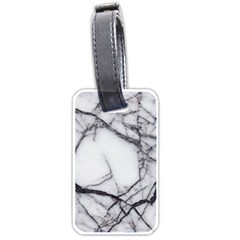 Marble Tiles Rock Stone Statues Luggage Tags (one Side)  by Simbadda