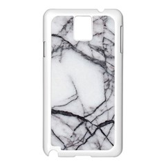 Marble Tiles Rock Stone Statues Samsung Galaxy Note 3 N9005 Case (white)