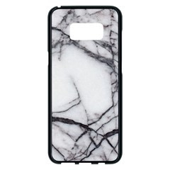 Marble Tiles Rock Stone Statues Samsung Galaxy S8 Plus Black Seamless Case