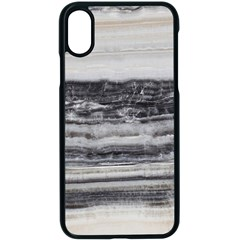 Marble Tiles Rock Stone Statues Pattern Texture Apple Iphone X Seamless Case (black) by Simbadda