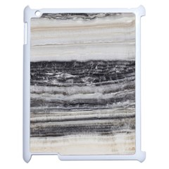 Marble Tiles Rock Stone Statues Pattern Texture Apple Ipad 2 Case (white) by Simbadda