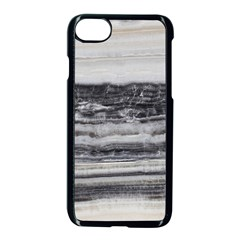 Marble Tiles Rock Stone Statues Pattern Texture Apple Iphone 8 Seamless Case (black) by Simbadda