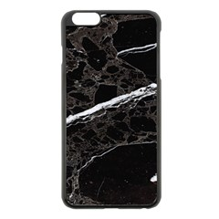 Marble Tiles Rock Stone Statues Apple Iphone 6 Plus/6s Plus Black Enamel Case by Simbadda