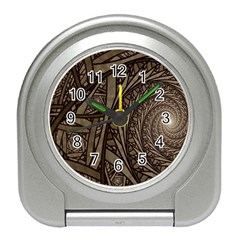 Abstract Pattern Graphics Travel Alarm Clocks