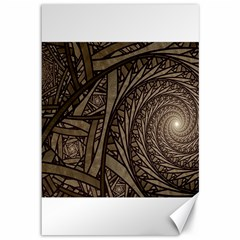 Abstract Pattern Graphics Canvas 12  X 18
