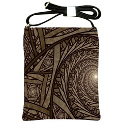 Abstract Pattern Graphics Shoulder Sling Bags by Simbadda
