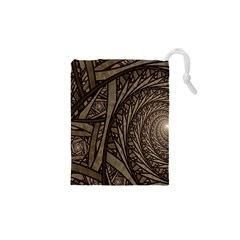 Abstract Pattern Graphics Drawstring Pouches (xs)