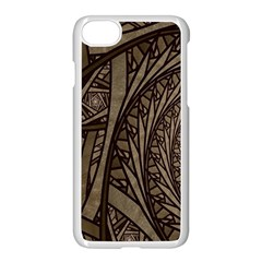 Abstract Pattern Graphics Apple Iphone 8 Seamless Case (white)